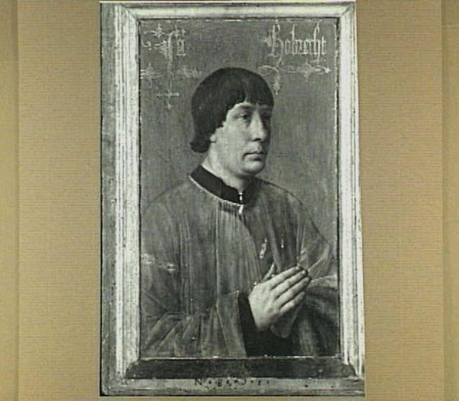 """attributed to <a class=""""recordlink artists"""" href=""""/explore/artists/55174"""" title=""""Hans Memling""""><span class=""""text"""">Hans Memling</span></a>"""