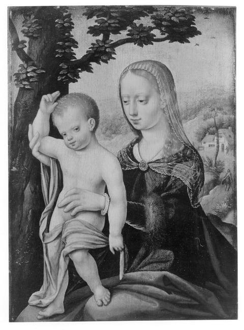 "trant/naar <a class=""recordlink artists"" href=""/explore/artists/17248"" title=""Joos van Cleve""><span class=""text"">Joos van Cleve</span></a>"