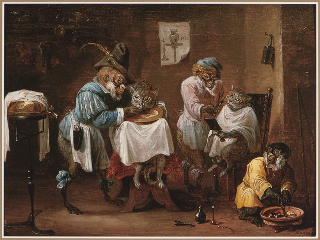 """attributed to <a class=""""recordlink artists"""" href=""""/explore/artists/76786"""" title=""""David Teniers (II)""""><span class=""""text"""">David Teniers (II)</span></a>"""