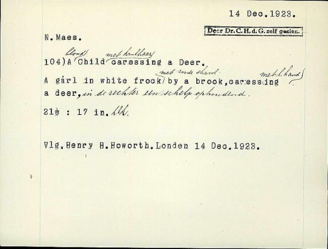 Maes, Nicolaes, fichenummer 1298302