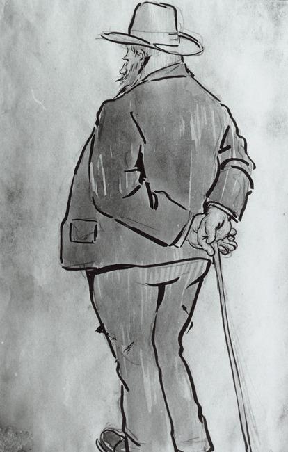 Portret van Anton Mauve (1838-1888)