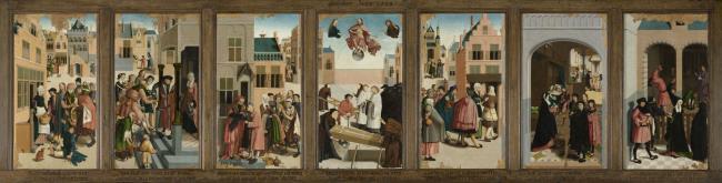 "<a class=""recordlink artists"" href=""/explore/artists/53218"" title=""Meester van Alkmaar""><span class=""text"">Meester van Alkmaar</span></a>"