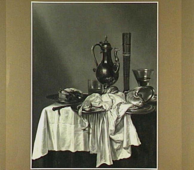 "possibly <a class=""recordlink artists"" href=""/explore/artists/36904"" title=""Hendrick Heerschop""><span class=""text"">Hendrick Heerschop</span></a> after <a class=""recordlink artists"" href=""/explore/artists/36809"" title=""Willem Claesz. Heda""><span class=""text"">Willem Claesz. Heda</span></a>"