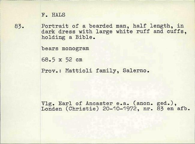 Hals, Frans (I), fichenummer 1203194