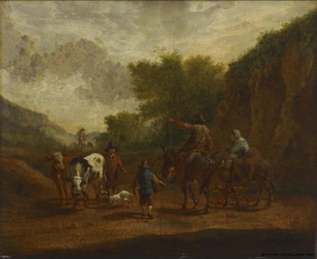 "toegeschreven aan <a class=""recordlink artists"" href=""/explore/artists/6727"" title=""Nicolaes Berchem""><span class=""text"">Nicolaes Berchem</span></a>"