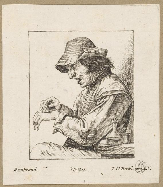 "<a class=""recordlink artists"" href=""/explore/artists/371244"" title=""Johann Georg Hertel (II)""><span class=""text"">Johann Georg Hertel (II)</span></a> after <a class=""recordlink artists"" href=""/explore/artists/76786"" title=""David Teniers (II)""><span class=""text"">David Teniers (II)</span></a>"