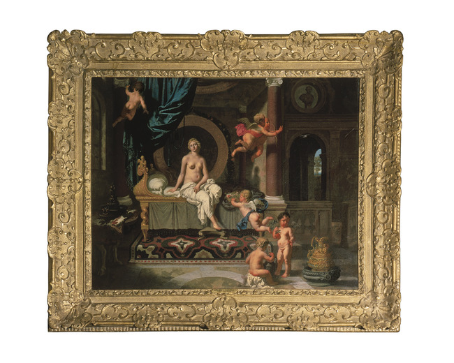 """attributed to <a class=""""recordlink artists"""" href=""""/explore/artists/47470"""" title=""""Gerard de Lairesse""""><span class=""""text"""">Gerard de Lairesse</span></a>"""