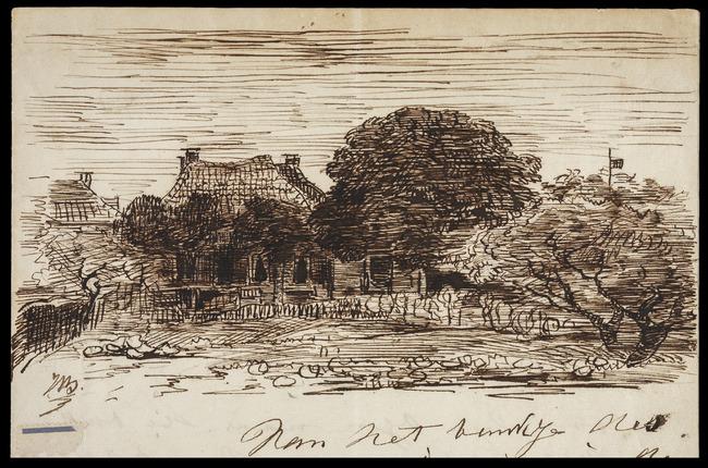 Bilders, Johannes Warnardus, Vorden (Gelderland), 1868-09-01, Brief van Johannes Warnardus Bilders aan Georgina van Dijk van 't Velde,