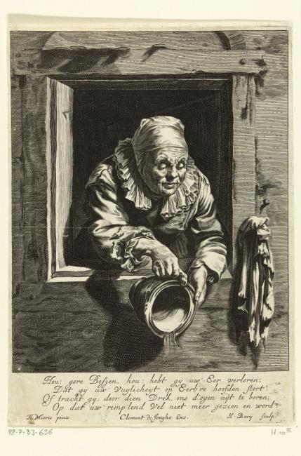 "<a class=""recordlink artists"" href=""/explore/artists/4830"" title=""Hendrik Bary""><span class=""text"">Hendrik Bary</span></a> naar <a class=""recordlink artists"" href=""/explore/artists/56019"" title=""Frans van Mieris (I)""><span class=""text"">Frans van Mieris (I)</span></a> uitgegeven door <a class=""recordlink artists"" href=""/explore/artists/112950"" title=""Clement de Jonghe""><span class=""text"">Clement de Jonghe</span></a>"