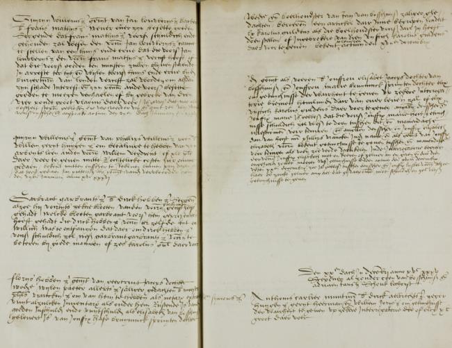 Leiden, 1535-12-17, Schepenbank (Oud Rechterlijk Archief), nummer toegang 0508, inv. no. 42+9 (Wedboek 1535-1536)