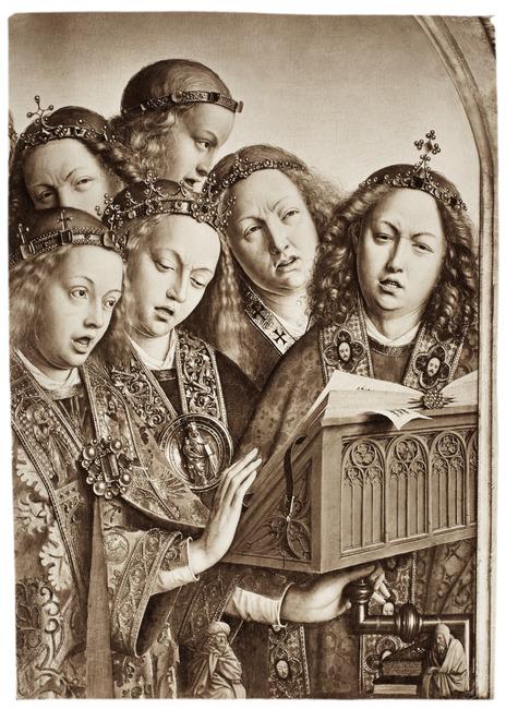 "<a class=""recordlink artists"" href=""/explore/artists/26955"" title=""Hubert van Eyck""><span class=""text"">Hubert van Eyck</span></a> and <a class=""recordlink artists"" href=""/explore/artists/26958"" title=""Jan van Eyck""><span class=""text"">Jan van Eyck</span></a>"