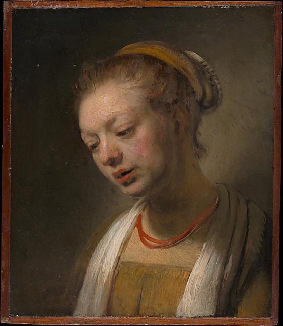 "follower of <a class=""recordlink artists"" href=""/explore/artists/66219"" title=""Rembrandt""><span class=""text"">Rembrandt</span></a> possibly <a class=""recordlink artists"" href=""/explore/artists/39579"" title=""Samuel van Hoogstraten""><span class=""text"">Samuel van Hoogstraten</span></a>"