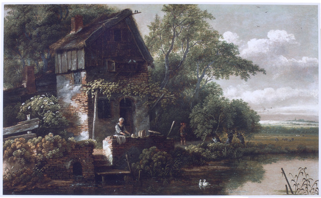 """attributed to <a class=""""recordlink artists"""" href=""""/explore/artists/67877"""" title=""""Gillis Rombouts""""><span class=""""text"""">Gillis Rombouts</span></a>"""
