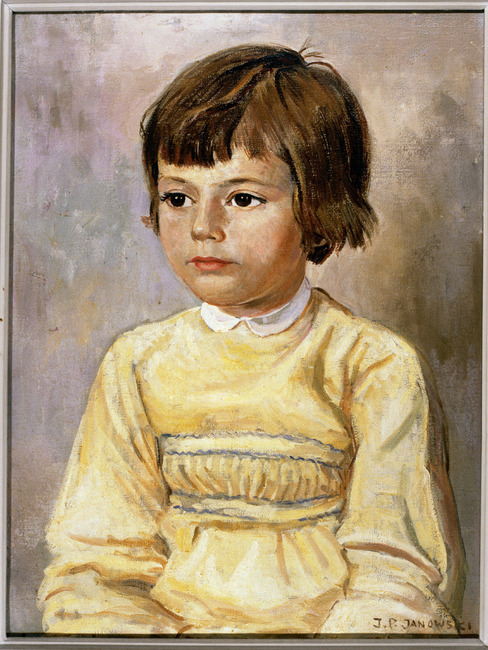 Portret van Louise Ariane de Brauw (1955- )