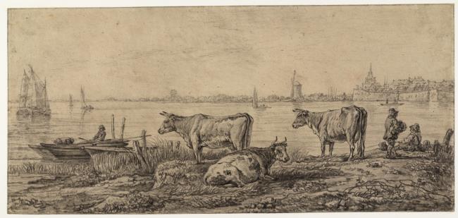 "<a class=""recordlink artists"" href=""/explore/artists/75741"" title=""Abraham van Strij (I)""><span class=""text"">Abraham van Strij (I)</span></a> after <a class=""recordlink artists"" href=""/explore/artists/19498"" title=""Aelbert Cuyp""><span class=""text"">Aelbert Cuyp</span></a>"