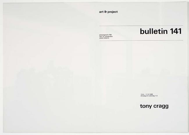 "<a class=""recordlink artists"" href=""/explore/artists/18947"" title=""Tony Cragg""><span class=""text"">Tony Cragg</span></a> and published by <a class=""recordlink artists"" href=""/explore/artists/438870"" title=""Art & Project""><span class=""text"">Art & Project</span></a>"