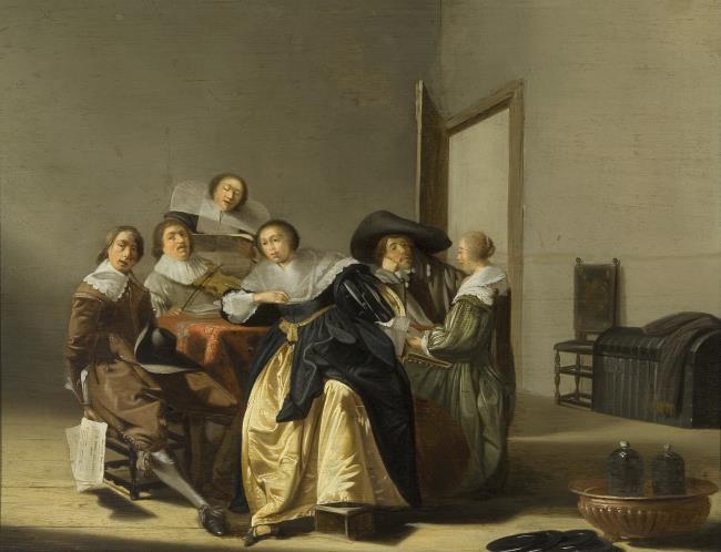 """naar <a class=""""recordlink artists"""" href=""""/explore/artists/17452"""" title=""""Pieter Codde""""><span class=""""text"""">Pieter Codde</span></a>"""