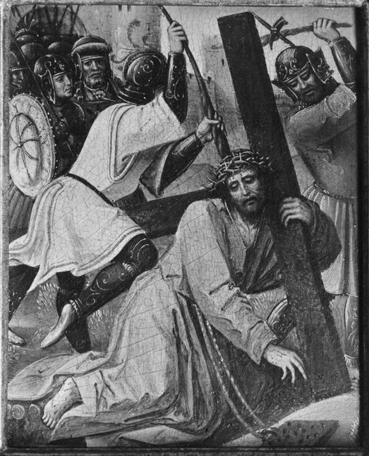 "possibly <a class=""recordlink artists"" href=""/explore/artists/83960"" title=""Goswin van der Weyden""><span class=""text"">Goswin van der Weyden</span></a>"