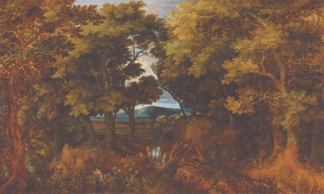 "<a class=""recordlink artists"" href=""/explore/artists/17954"" title=""Gillis van Coninxloo (II)""><span class=""text"">Gillis van Coninxloo (II)</span></a>"