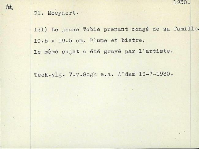 Moeyaert, Claes, card number 1327270