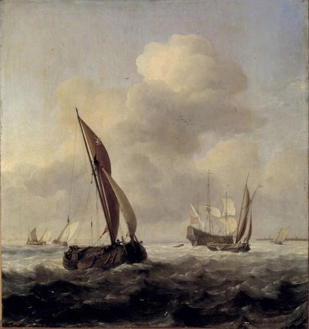 """atelier van <a class=""""recordlink artists"""" href=""""/explore/artists/79794"""" title=""""Willem van de Velde (II)""""><span class=""""text"""">Willem van de Velde (II)</span></a>"""