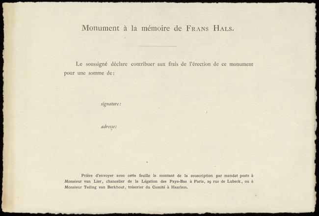 Hals, Frans (I), inventarisnummer 00582.003, 1800