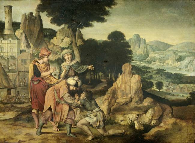 "<a class=""recordlink artists"" href=""/explore/artists/53162"" title=""Cornelis Massijs""><span class=""text"">Cornelis Massijs</span></a>"