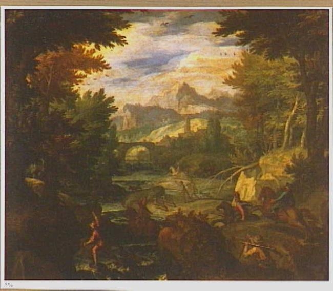 "manner of/circle of <a class=""recordlink artists"" href=""/explore/artists/12590"" title=""Paul Bril""><span class=""text"">Paul Bril</span></a>"
