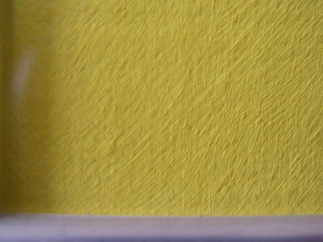 Gele reflectie