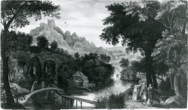 """trant van <a class=""""recordlink artists"""" href=""""/explore/artists/17954"""" title=""""Gillis van Coninxloo (II)""""><span class=""""text"""">Gillis van Coninxloo (II)</span></a>"""