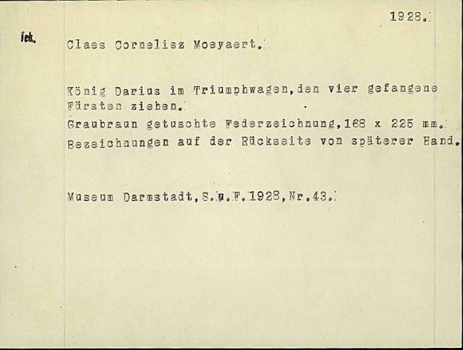 Moeyaert, Claes, card number 1327335