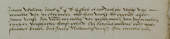 Leiden, 1535-03-20, Schepenbank (Oud Rechterlijk Archief), nummer toegang 0508, inv. no. 42+9 (Wedboek 1535-1536)