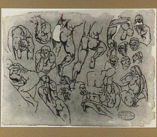 """<a class=""""recordlink artists"""" href=""""/explore/artists/40574"""" title=""""David Pièrre Giottino Humbert de Superville""""><span class=""""text"""">David Pièrre Giottino Humbert de Superville</span></a> after <a class=""""recordlink artists"""" href=""""/explore/artists/55890"""" title=""""Michelangelo""""><span class=""""text"""">Michelangelo</span></a>"""