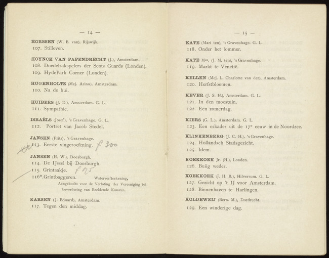 Koekkoek, Johannes Hermanus Barend, catalogue number 127, IJ (Amsterdam), 1888-10-11, Gezicht op 't IJ voor Amsterdam
