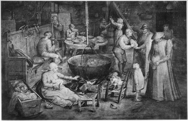 "<a class=""recordlink artists"" href=""/explore/artists/13288"" title=""Jan Brueghel (I)""><span class=""text"">Jan Brueghel (I)</span></a> mogelijk naar <a class=""recordlink artists"" href=""/explore/artists/13292"" title=""Pieter Bruegel (I)""><span class=""text"">Pieter Bruegel (I)</span></a>"