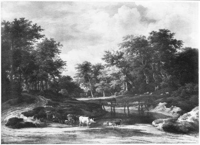 "<a class=""recordlink artists"" href=""/explore/artists/68835"" title=""Jacob van Ruisdael""><span class=""text"">Jacob van Ruisdael</span></a> en mogelijk <a class=""recordlink artists"" href=""/explore/artists/6727"" title=""Nicolaes Berchem""><span class=""text"">Nicolaes Berchem</span></a>"