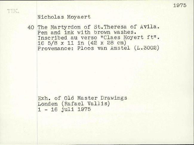 Moeyaert, Claes, card number 1327325
