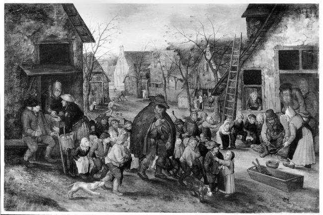 "follower of <a class=""recordlink artists"" href=""/explore/artists/13293"" title=""Pieter Brueghel (II)""><span class=""text"">Pieter Brueghel (II)</span></a> after <a class=""recordlink artists"" href=""/explore/artists/81117"" title=""David Vinckboons (I)""><span class=""text"">David Vinckboons (I)</span></a>"