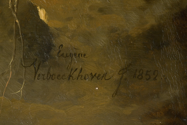 "<a class=""recordlink artists"" href=""/explore/artists/80081"" title=""Eugène Joseph Verboeckhoven""><span class=""text"">Eugène Joseph Verboeckhoven</span></a>"
