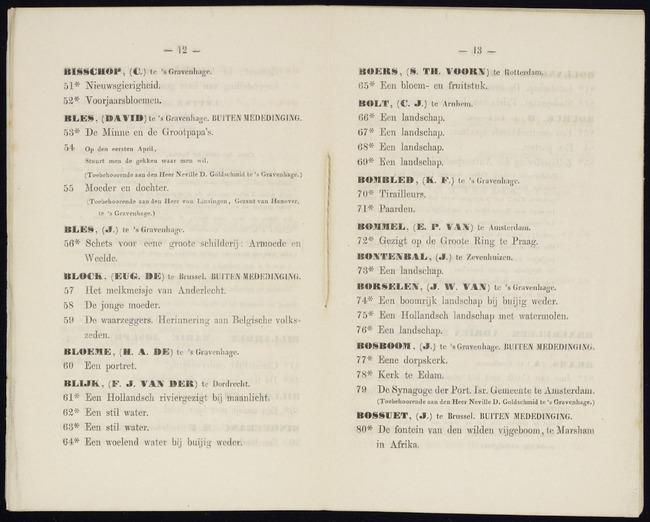 Blijk, Frans Jacobus van den, catalogusnummer 64, Een woelend water bij buijig weder