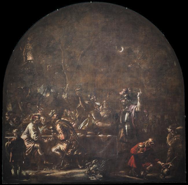 """<a class=""""recordlink artists"""" href=""""/explore/artists/28322"""" title=""""Govert Flinck""""><span class=""""text"""">Govert Flinck</span></a> and <a class=""""recordlink artists"""" href=""""/explore/artists/61271"""" title=""""Jürgen Ovens""""><span class=""""text"""">Jürgen Ovens</span></a>"""
