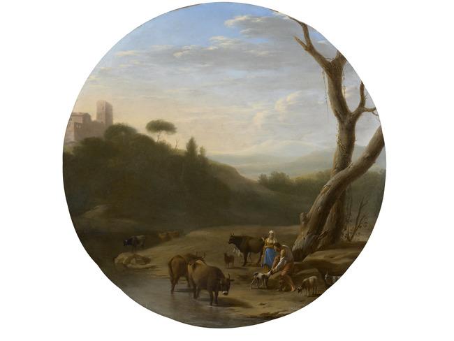 """<a class=""""recordlink artists"""" href=""""/explore/artists/1984"""" title=""""Anoniem""""><span class=""""text"""">Anoniem</span></a> <a class=""""thesaurus"""" href=""""/nl/explore/thesaurus?term=57381&domain=PLAATS"""" title=""""Nederlanden (historische regio)"""" >Nederlanden (historische regio)</a> 2e helft 17e eeuw"""