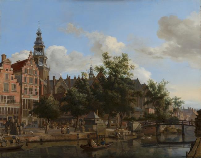 """<a class=""""recordlink artists"""" href=""""/explore/artists/38227"""" title=""""Jan van der Heyden""""><span class=""""text"""">Jan van der Heyden</span></a> en <a class=""""recordlink artists"""" href=""""/explore/artists/79763"""" title=""""Adriaen van de Velde""""><span class=""""text"""">Adriaen van de Velde</span></a>"""