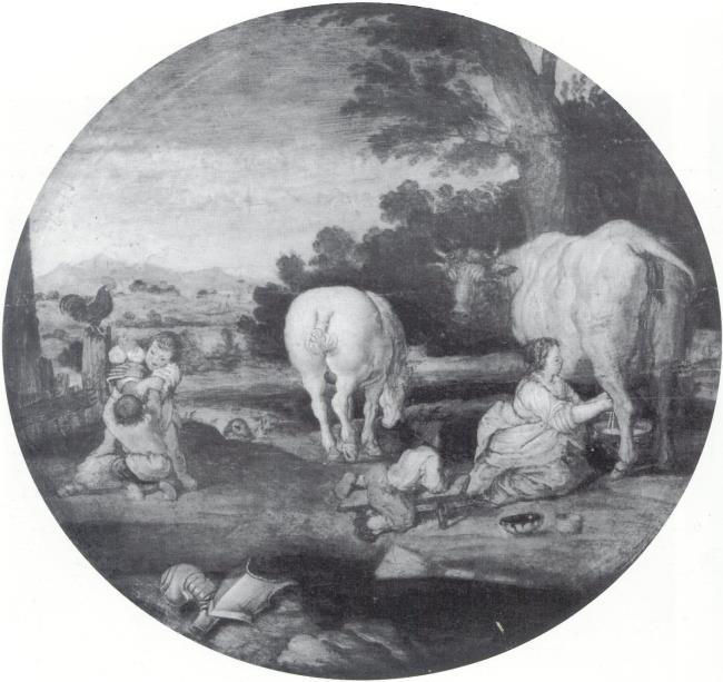 """<a class=""""recordlink artists"""" href=""""/explore/artists/1984"""" title=""""Anoniem""""><span class=""""text"""">Anoniem</span></a> <a class=""""thesaurus"""" href=""""/en/explore/thesaurus?term=29960&domain=PLAATS"""" title=""""Noordelijke Nederlanden (historische regio)"""" >Noordelijke Nederlanden (historische regio)</a> eerrste kwart 17e eeuw and manner of <a class=""""recordlink artists"""" href=""""/explore/artists/79769"""" title=""""Esaias van de Velde""""><span class=""""text"""">Esaias van de Velde</span></a>"""