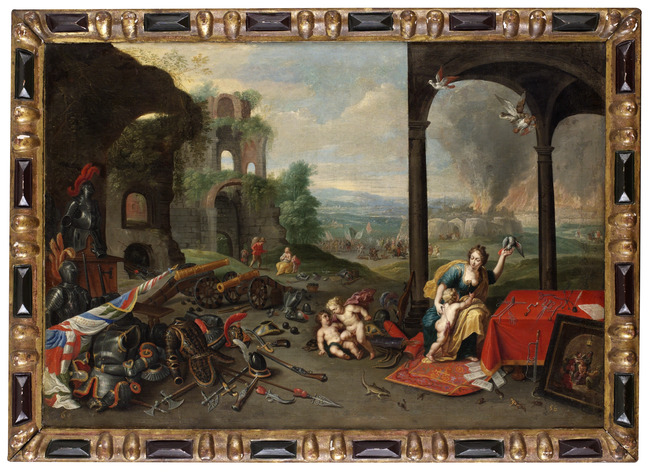 "attributed to <a class=""recordlink artists"" href=""/explore/artists/44093"" title=""Jan van Kessel (I)""><span class=""text"">Jan van Kessel (I)</span></a>"