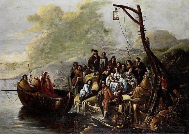 """circle of <a class=""""recordlink artists"""" href=""""/explore/artists/83916"""" title=""""Jacob de Wet (I)""""><span class=""""text"""">Jacob de Wet (I)</span></a>"""