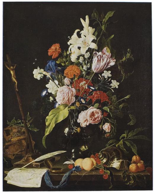"""<a class=""""recordlink artists"""" href=""""/explore/artists/36842"""" title=""""Jan Davidsz. de Heem""""><span class=""""text"""">Jan Davidsz. de Heem</span></a> en <a class=""""recordlink artists"""" href=""""/explore/artists/80209"""" title=""""Nicolaes van Verendael""""><span class=""""text"""">Nicolaes van Verendael</span></a>"""