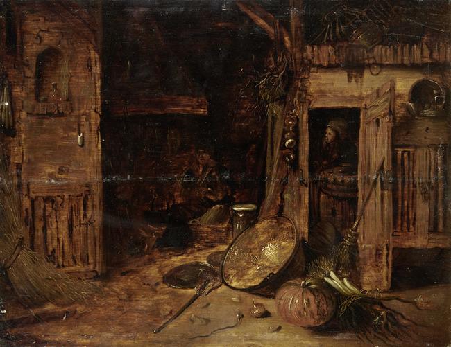 "navolger van <a class=""recordlink artists"" href=""/explore/artists/43285"" title=""Willem Kalf""><span class=""text"">Willem Kalf</span></a>"