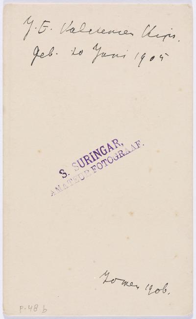"""<a class=""""recordlink artists"""" href=""""/explore/artists/469594"""" title=""""Sara Suringar""""><span class=""""text"""">Sara Suringar</span></a>"""