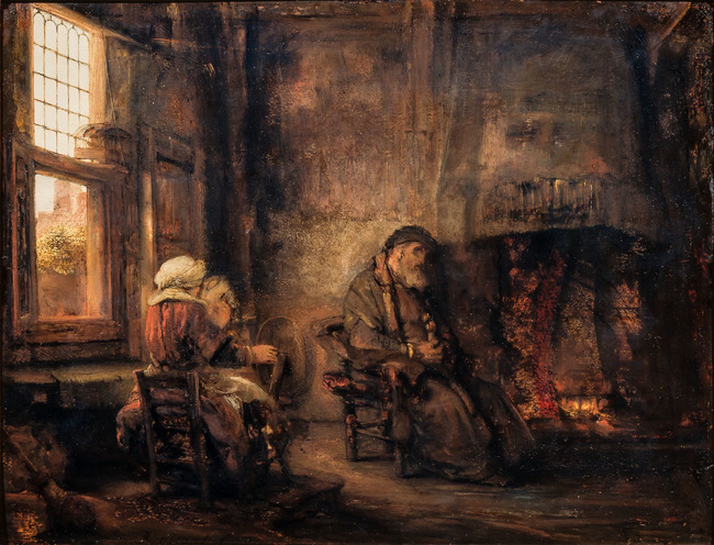 "<a class=""recordlink artists"" href=""/explore/artists/66219"" title=""Rembrandt""><span class=""text"">Rembrandt</span></a> or follower of <a class=""recordlink artists"" href=""/explore/artists/66219"" title=""Rembrandt""><span class=""text"">Rembrandt</span></a> or possibly <a class=""recordlink artists"" href=""/explore/artists/27137"" title=""Barent Fabritius""><span class=""text"">Barent Fabritius</span></a>"